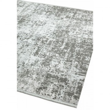 OLYMPIA OL07 SILVER-GREY ABSTRACT