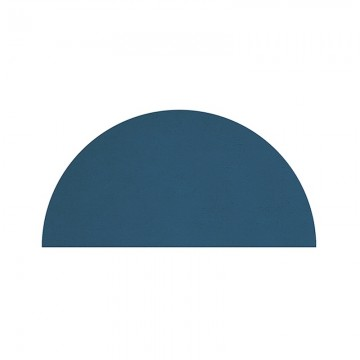 Alfombra Media luna azúl oscuro h0501