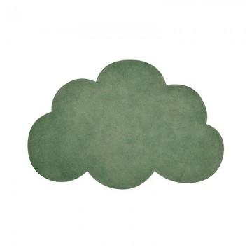 Alfombra Nube verde oscuro h0514