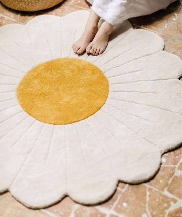 Alfombra circular flor H0591