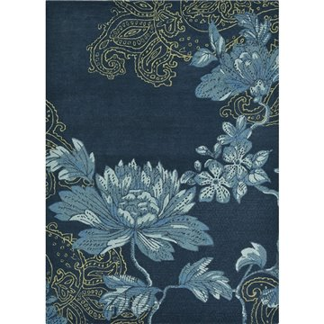 Fabled Floral Navy 37508
