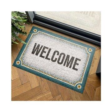 Mosaique Welcome Bleu