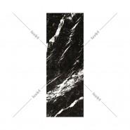 Alfombra Marbre Noir Nero Marquina Adelia de 70 x 198 cm