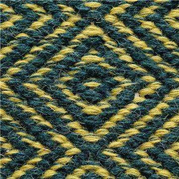 Teicland Wool Green Gold.
